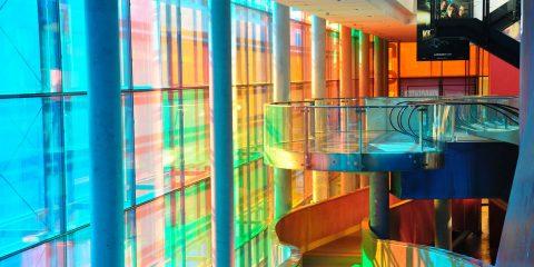 vidrio en interiorismo