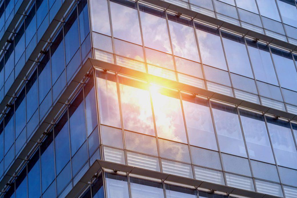 Vidrio de control solar