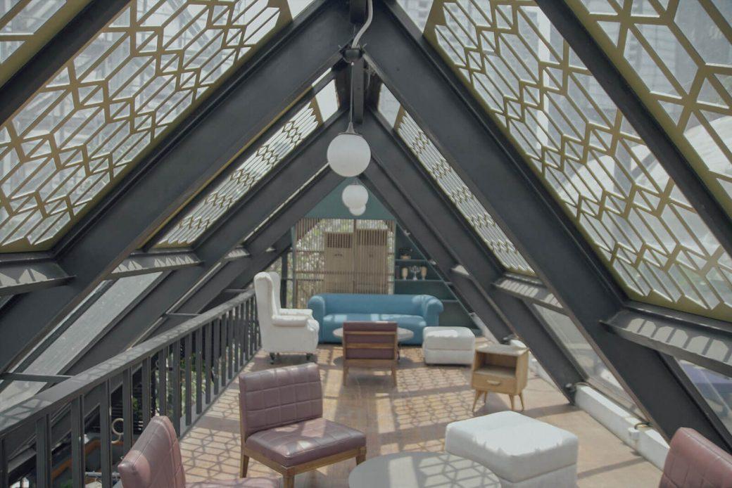 El vidrio en diseño de interiores