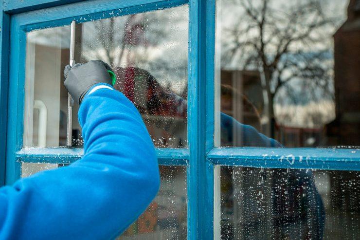 mantenimiento de las ventanas