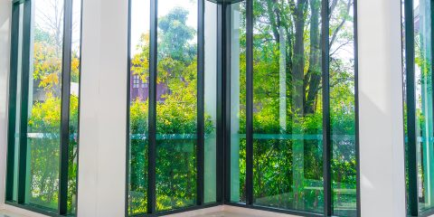 usos del vidrio templado