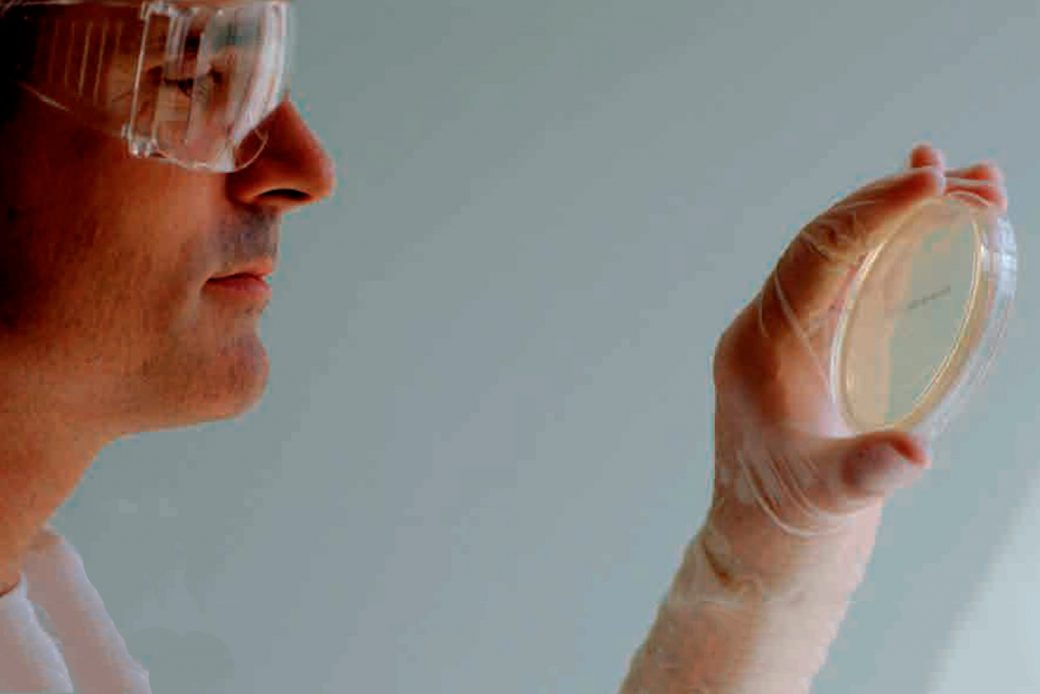 vidrio antibacterias